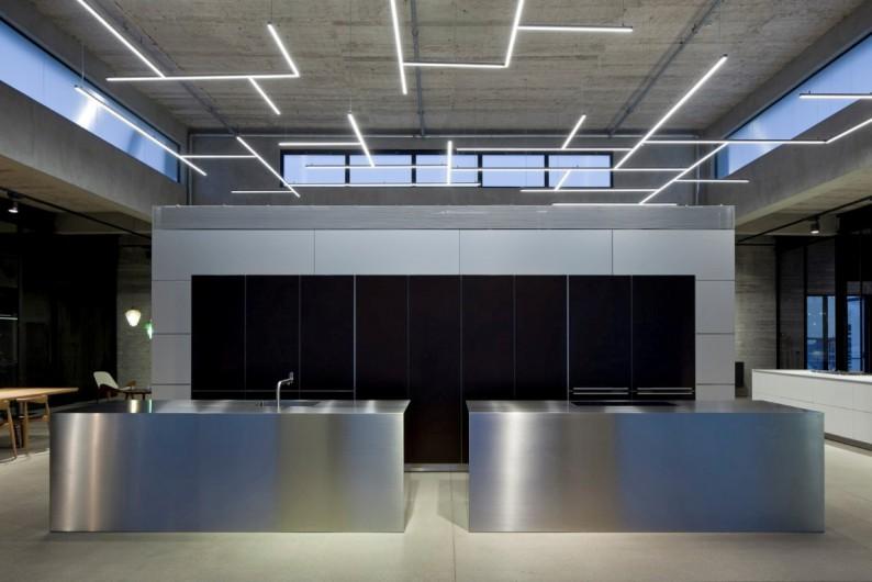 interior kitchen the home tel aviv design | Bulthaup's New Tel Aviv Showroom Shows the Men Behind the ...