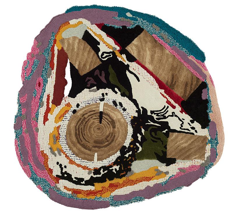 Coast Occult Dress rug, 2014