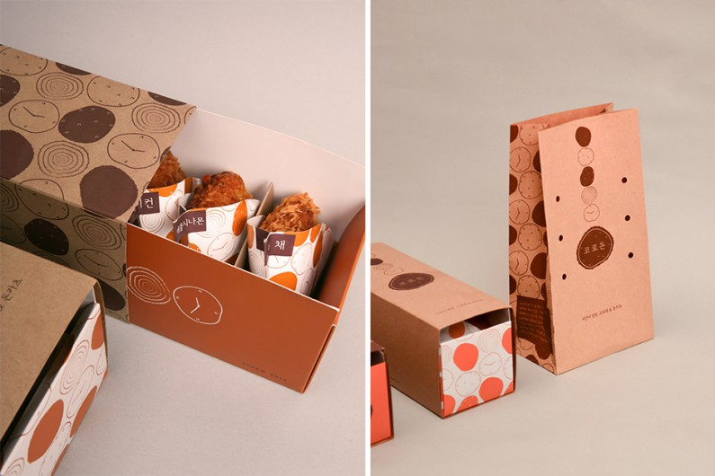 Smart And Beautiful To Go Food Packaging Design Mold