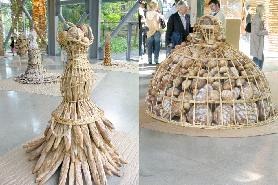 jean paul gaultier pain couture 2004 exhibition bread is noble bread ...