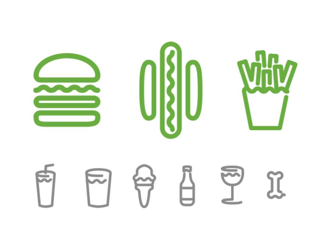 Shake Shack Logo Food Design Friday Burger Branding Finger Licking And Tea Time
