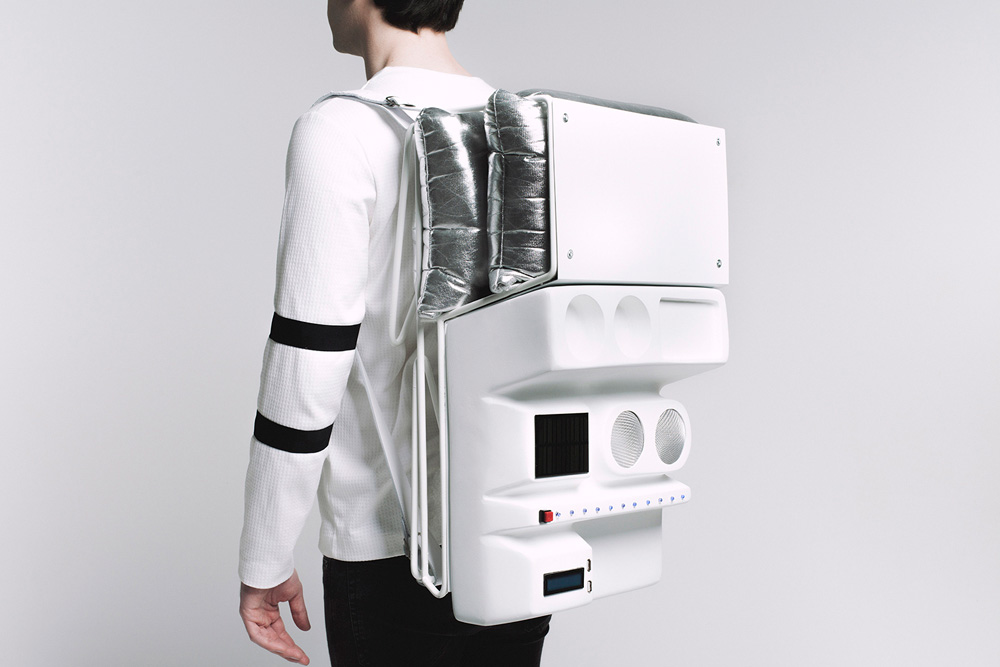 Technopicnic An Astronaut Inspired Picnic Backpack For The Urban Explorer Mold Designing