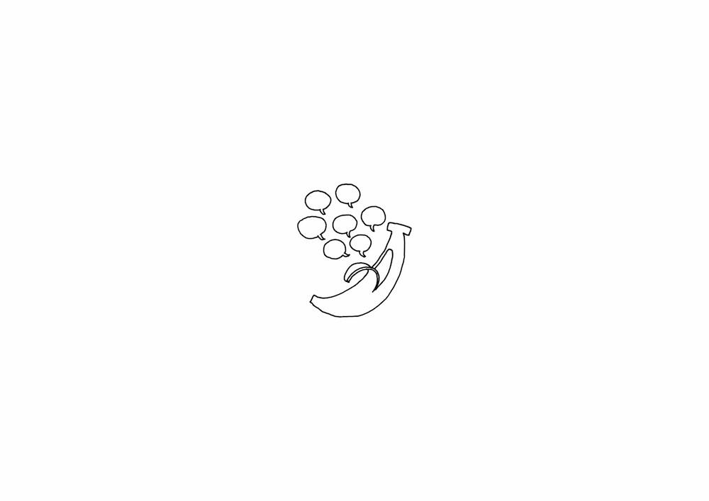 nendo-shiawase_banana-sketch