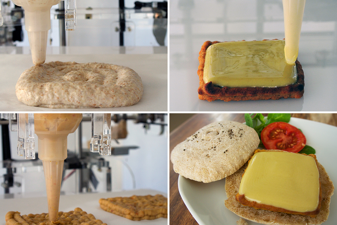 Natural Machines' Foodini 3D food printer.