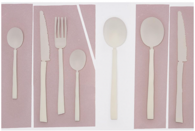 Maarten Baas for the Cutlery Project, from Valerie Objects