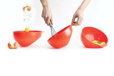 An omelette maker from Joseph Joseph's M-Cuisine line of microwave cooking products.