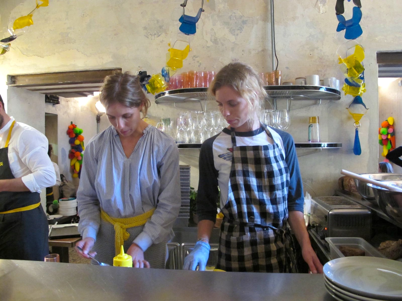 Carter and Harry Were, Australian maker and baker twins, preparing breakfast.