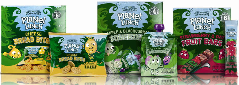 Planet Lunch UK packaging via Popsop