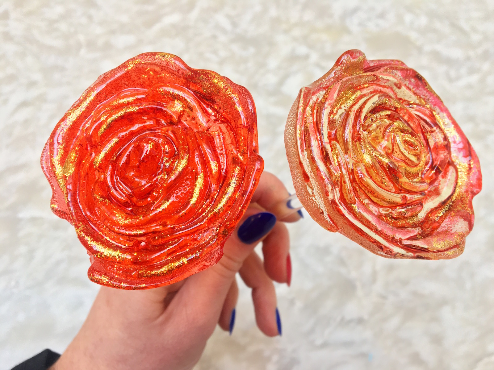Candy rose bouquets by Sweet Saba.