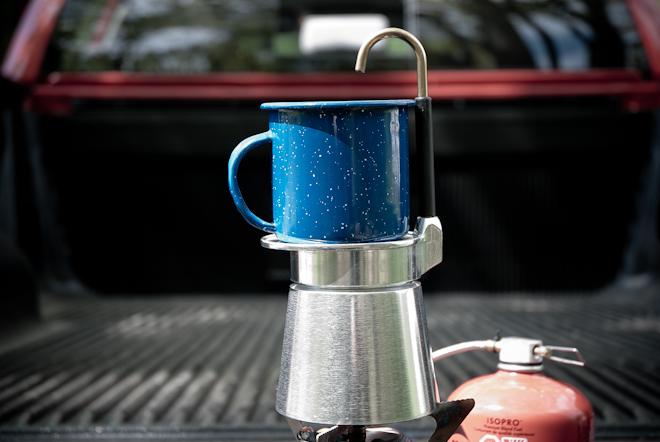 GSI's MiniX-presso coffee maker.