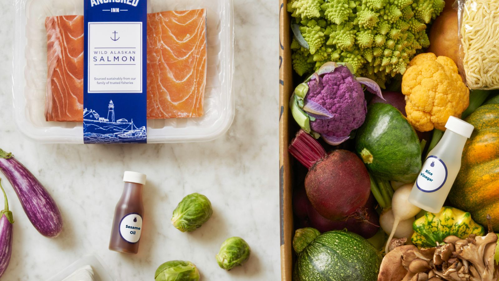 Blue apron vegan