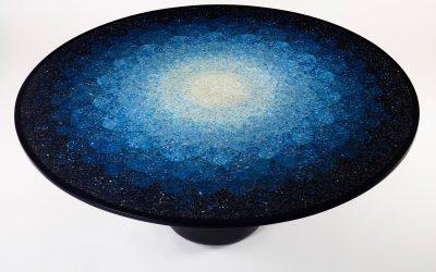 Brodie Neill ocean plastic terrazzo table