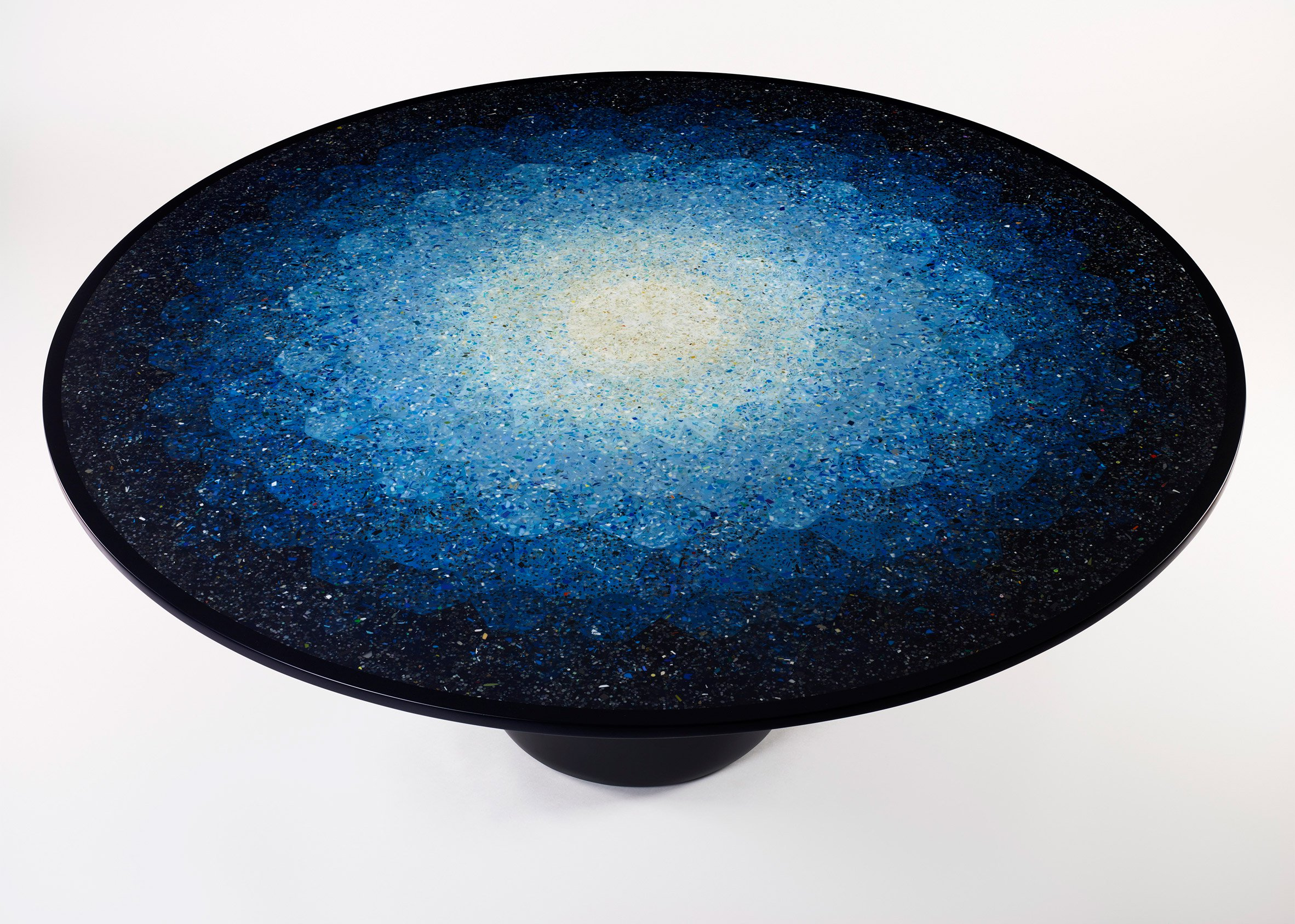 Furniture. Brodie Neill Ocean Plastic Terrazzo Table