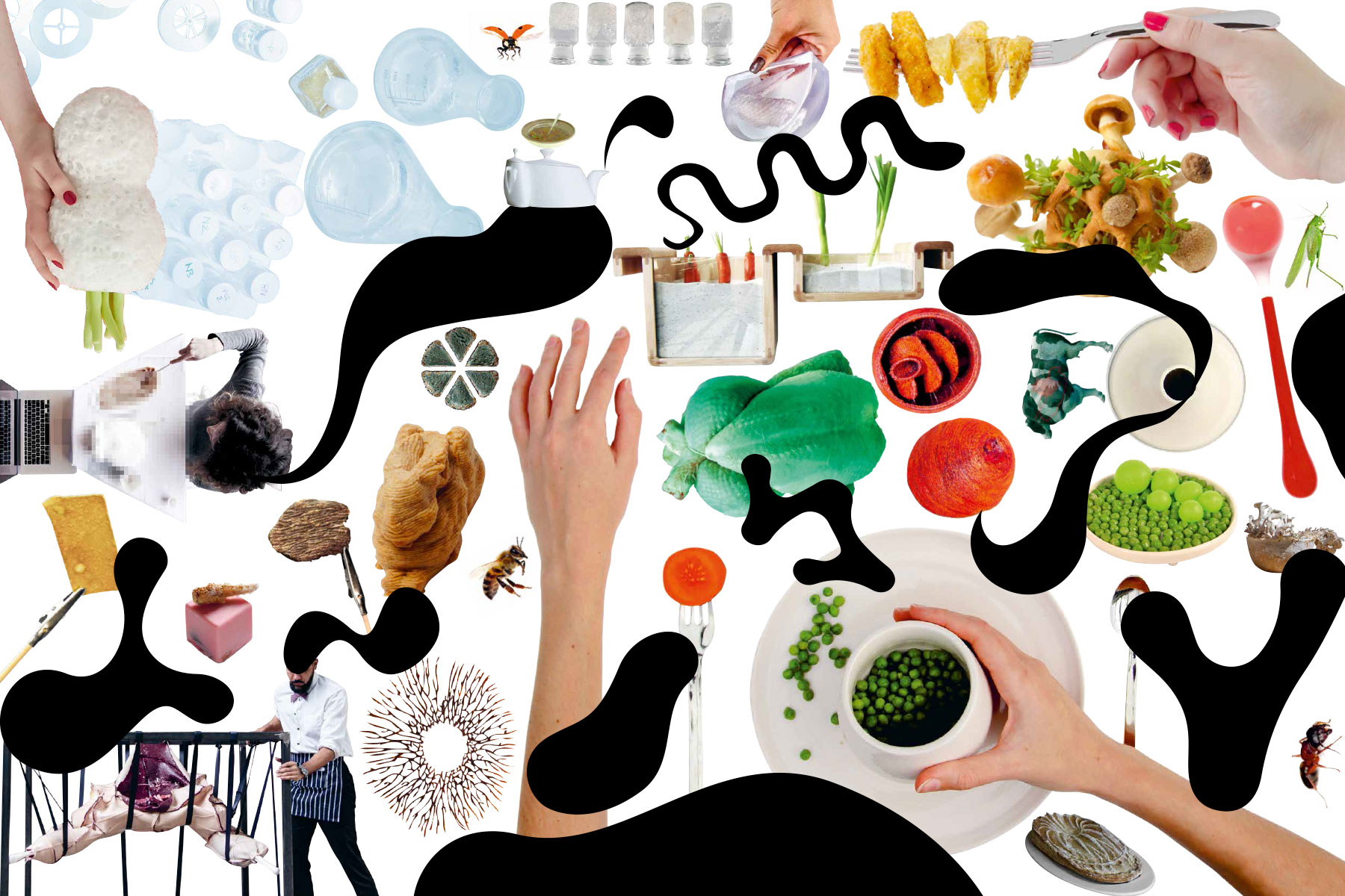 Food Revolution 5.0 exhibition in Hamburg examines food design and the future of food.