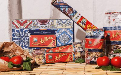 Dolce Gabbana Pastificio Martino Pasta Package