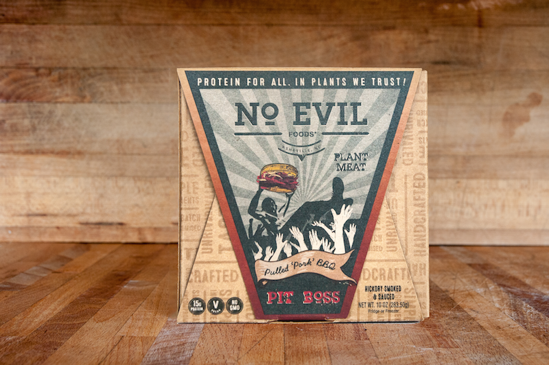 No Evil Foods plant meat packaging
