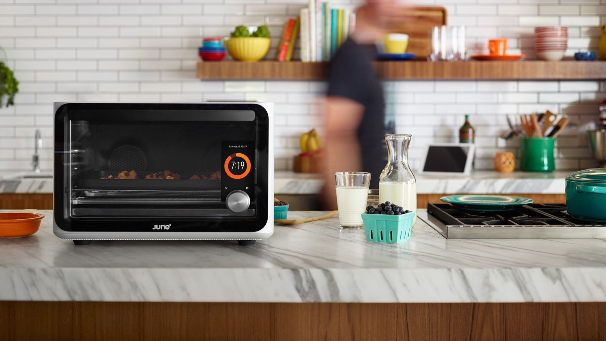 "June is an app-controlled ""Smart Oven"""