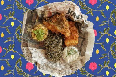 Brexit Banquet Fish n' Chips